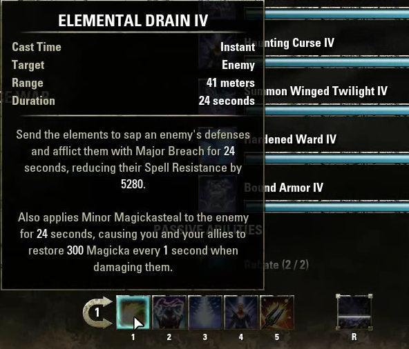 Elder Scrolls Online Sorcerer PVP Build - r4pg com