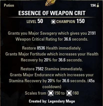 Essence of Weapon Crit