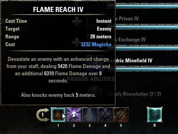 FLAME REACH IV