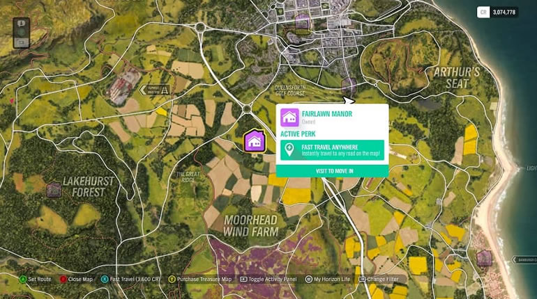 Forza Horizon 4 Guide - How To Fast Travel In Map - r4pg com
