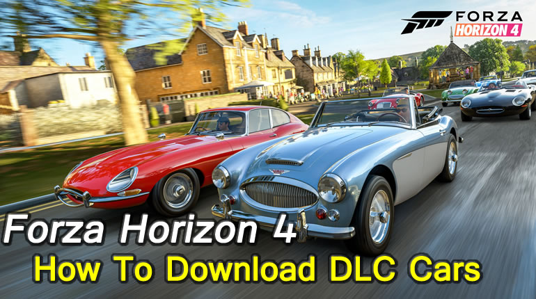 Forza Horizon 4 Guide - How To Download DLC Cars