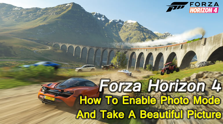 Forza Horizon 4 Photo Mode Guide