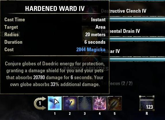 Hardened Ward Iv