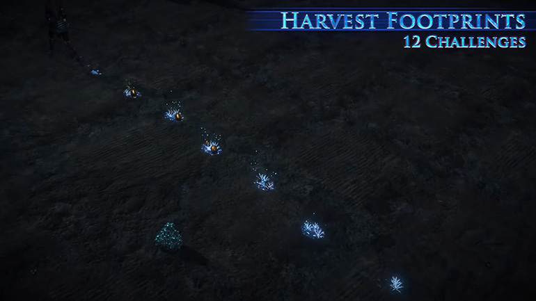 Harvest Footprints