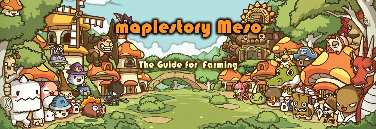 Maplestory Meso The Guide For Farming Maplestory2 Mesos Com