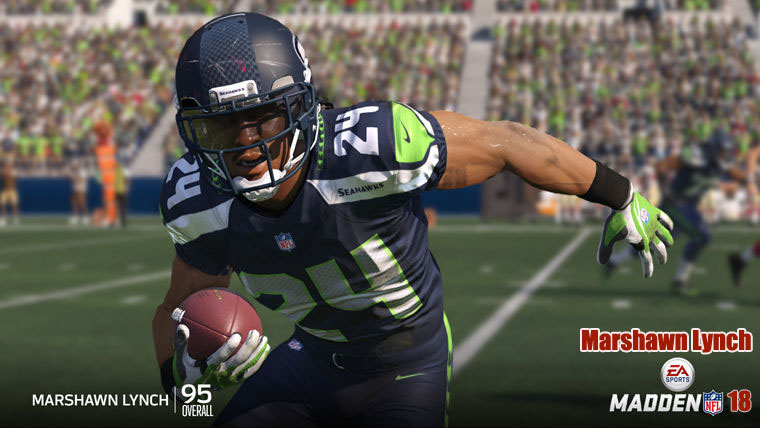Madden Marshawn Lynch