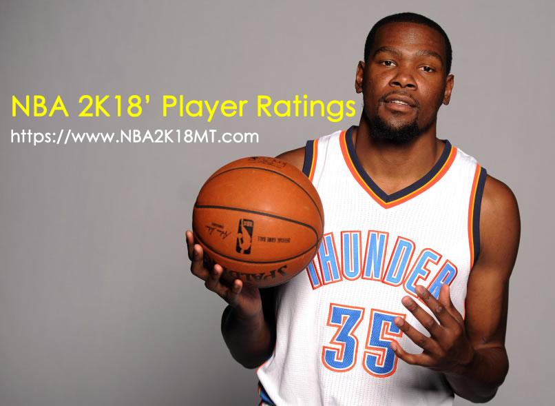 NBA 2K18' Player Ratings - NBA2K18MT
