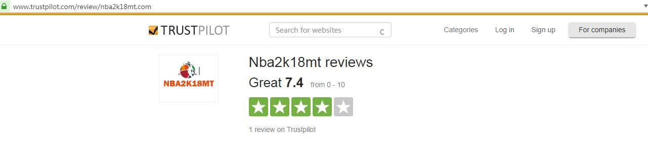 NBA2K18MT TRUSTPILOT