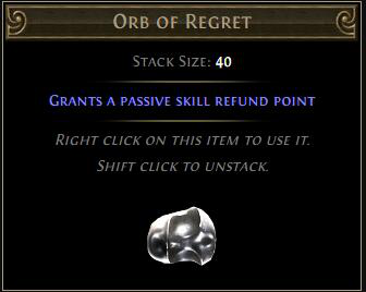 Orb Of Regrets