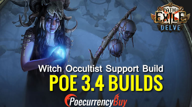 POE 3.4 Witch Occultist Support Build