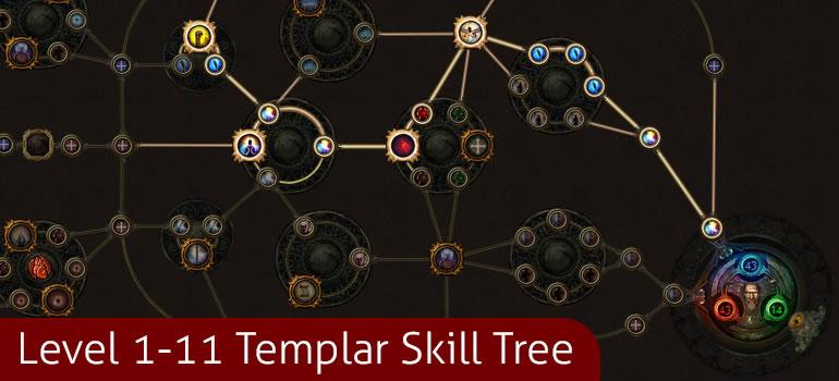 Level 1-11 Skill Tree