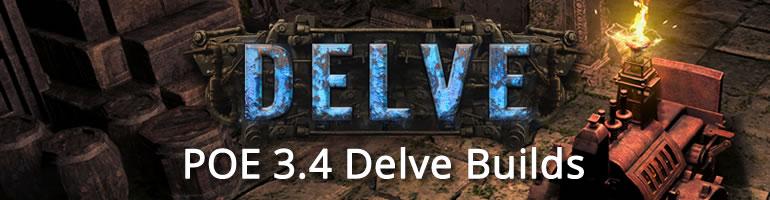 POE 3.4 Delve Builds