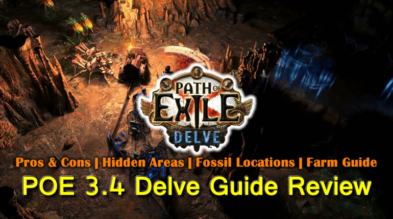 POE 3.4 Delve League Guide Review - Pros & Cons | Hidden Areas | Fossil Locations | Farm Guide
