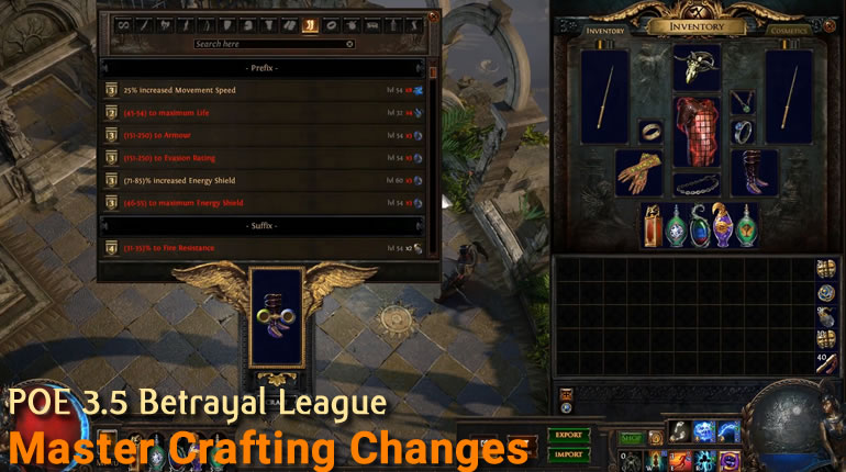 POE_3.5_Betrayal_Master_Crafting_Changes