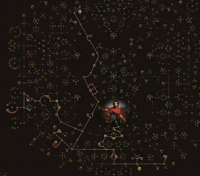 POE_3.5_Duelist_Gladiator_Starter_Freezing_Cyclone_Tree