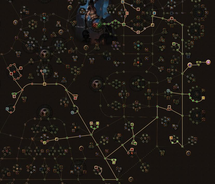 POE 3.5 Shadow Assassin Starter Rain of Arrows Tree