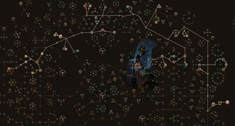 POE 3.5 Shadow Saboteur Starter ARC Mine Tree
