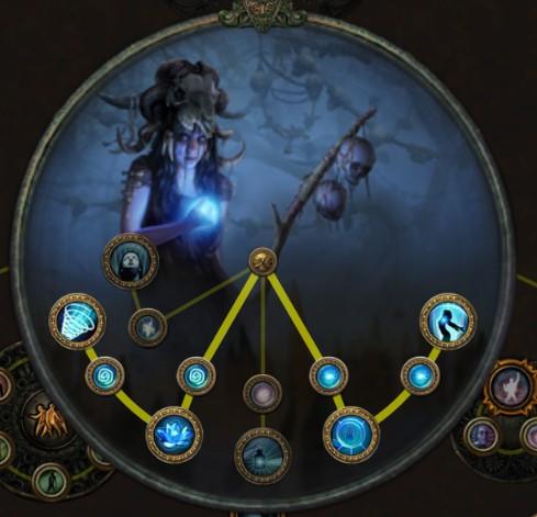 POE 3.5 Witch Occultist Starter Rain of Arrows Ascendancy