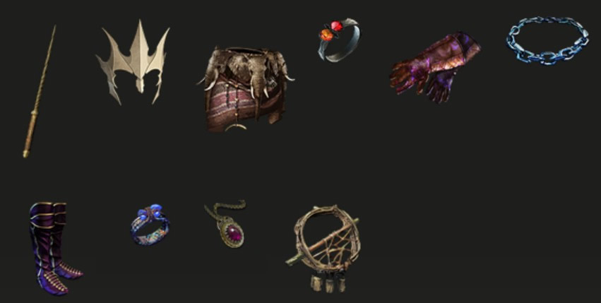 POE 3.6 Synthesis Bane Blight Occultist Gear