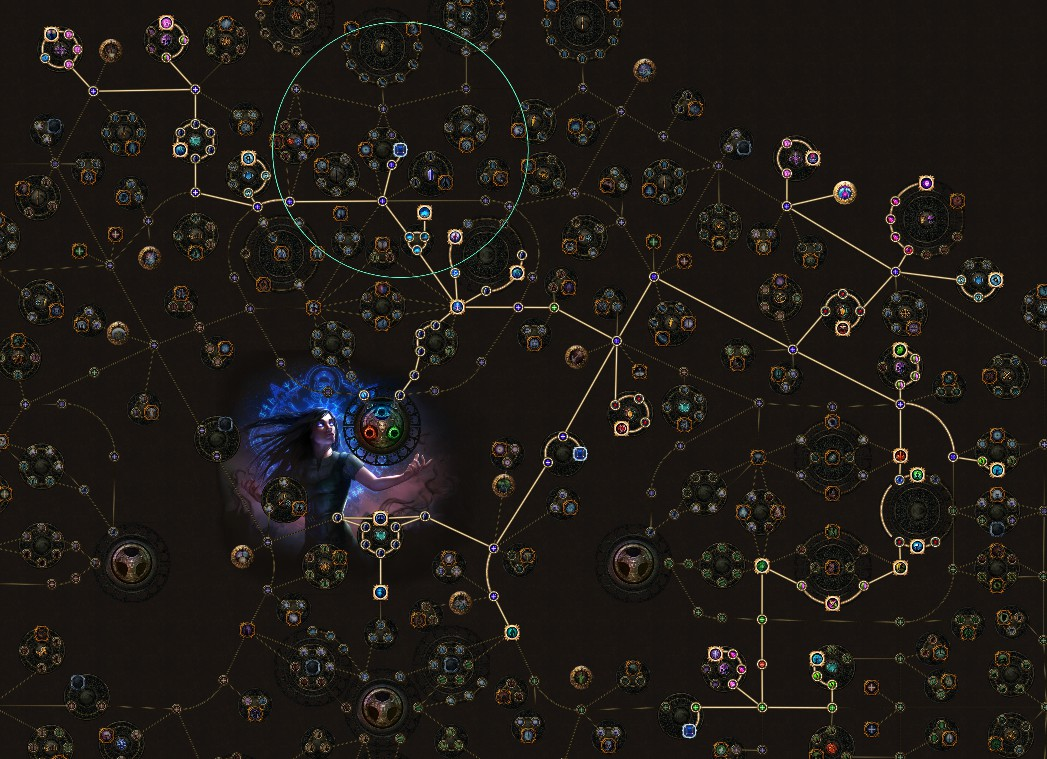 POE 3.6 Synthesis Bane Blight Occultist Passive Skill Tree