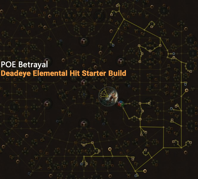 POE Betrayal Deadeye Elemental Hit Skill Tree