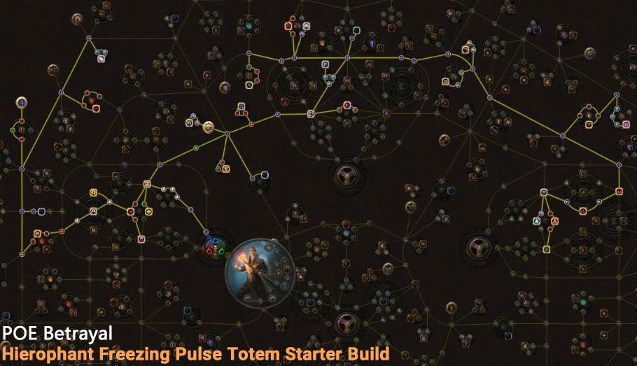 POE Betrayal Hierophant Freezing Pulse Totem Skill Tree