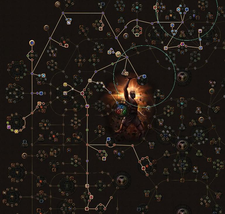 POE Betrayal Hierophant Frostbolt Totems Skill Tree