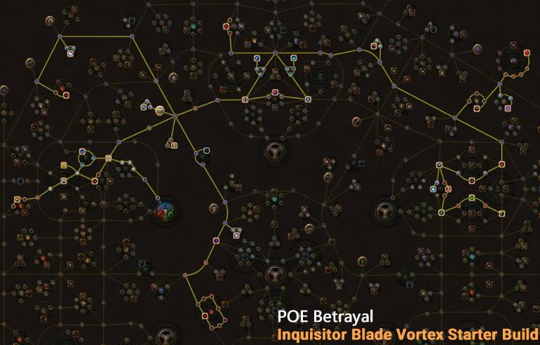 POE Betrayal Inquisitor Blade Vortex Skill Tree
