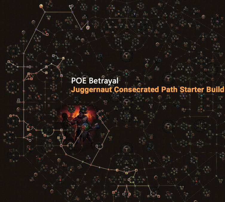 POE Betrayal Juggernaut Consecrated Path Skill Tree