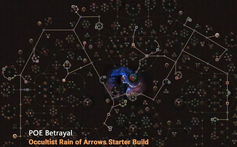 POE Betrayal Occultist Rain of Arrows