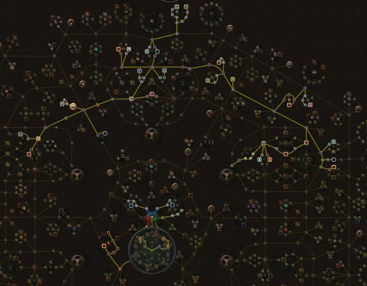 POE 3.5 Scion Ascendant Ice Nova CoC Cospri's Skill Tree