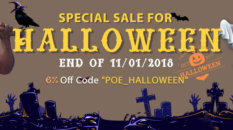 POE Special Halloween Sale
