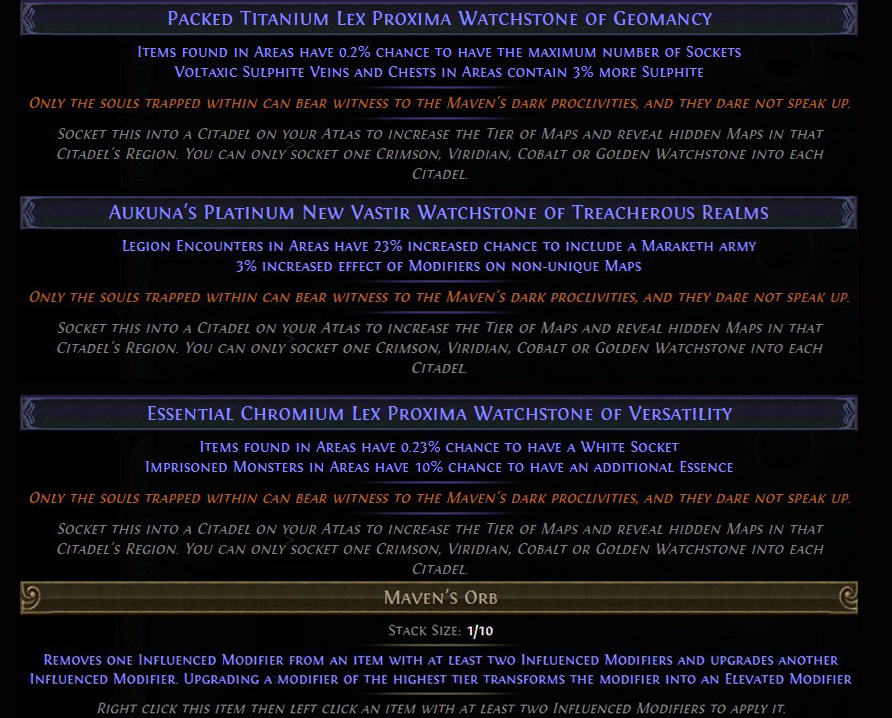 Path of Exile -  Echoes of the Atlas New PoE Currency