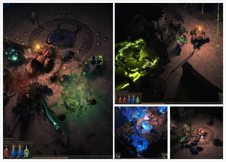 Path of Exile - Delve A wide variety of creatures