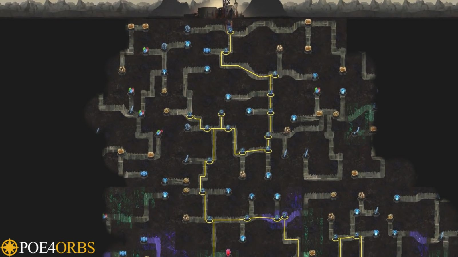 Path of Exile - Delve Infinite Dungeon