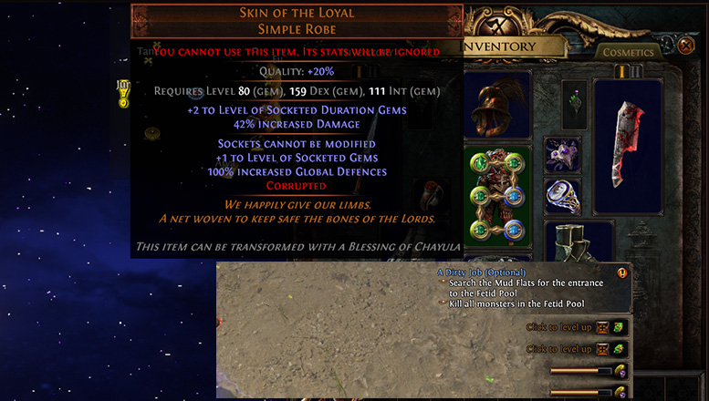 Path of Exile Useful Tips Ignored Gear