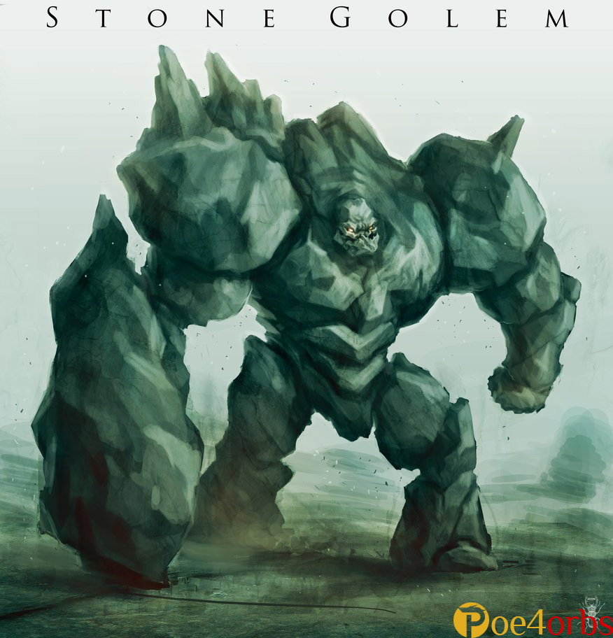 Path of Exile stone golem
