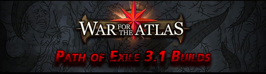 PoE War for the Atlas Builds