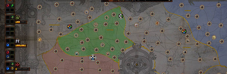 Path of Exile Delirium Atlas