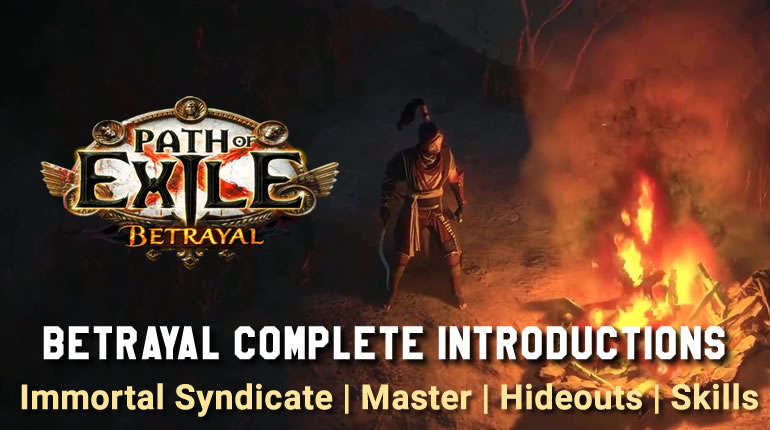 Path Of Exile Betrayal Complete Introductions