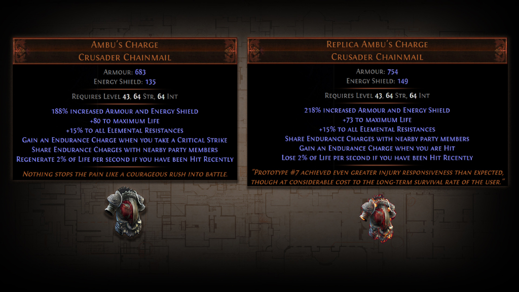 PoE 3.12 Replica Unique Items