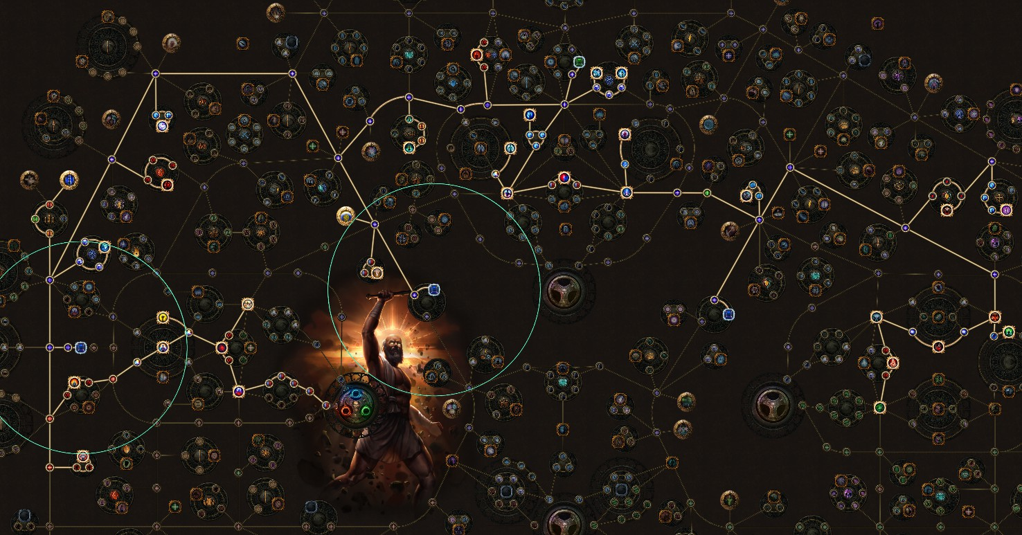 PoE 3.9 Templar Freezing Pulse Totems Hierophant Skill Tree