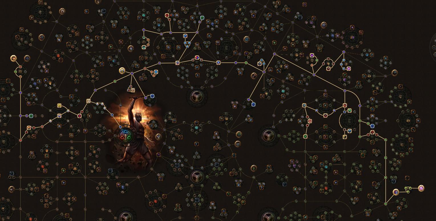 PoE 3.9 Templar Storm Brand Inquisitor Skill Tree