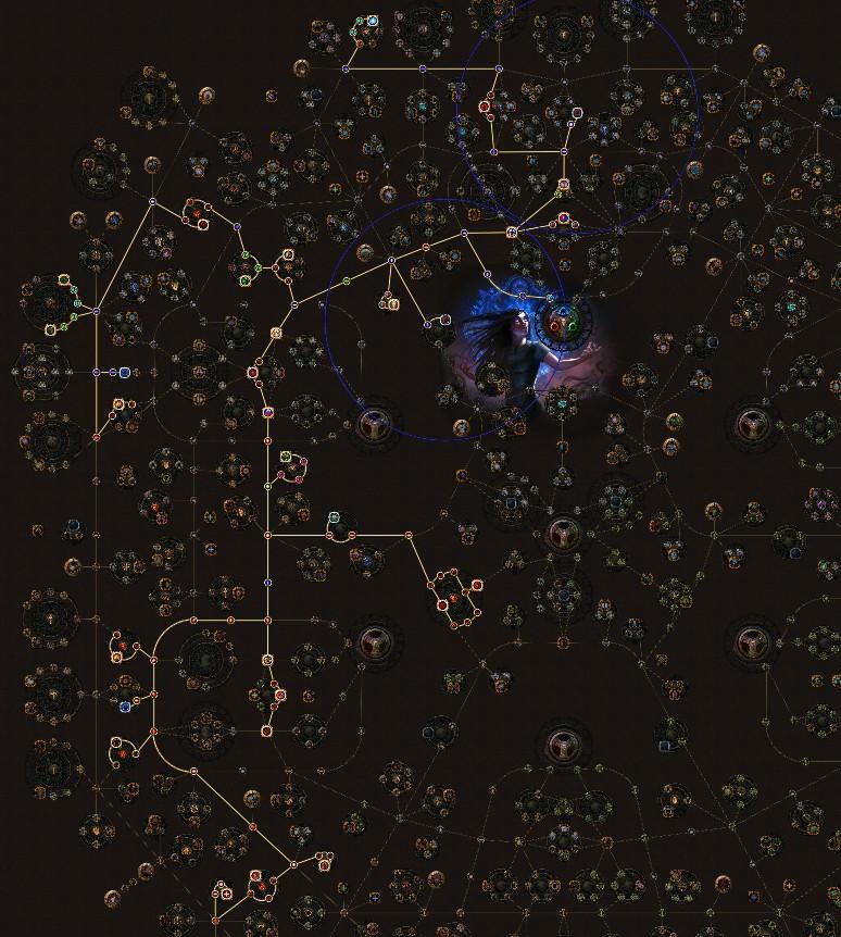 PoE 3.9 Witch Raise Zombie Necromancer Skill Tree