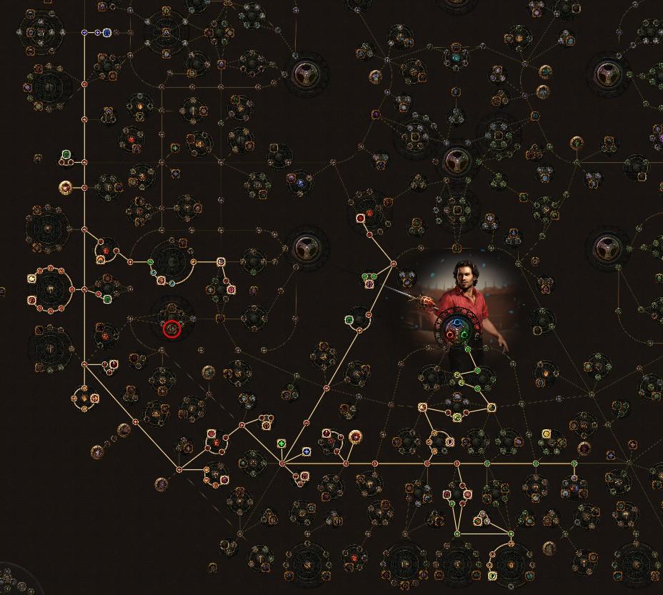 PoE-3.11-Duelist-Lacerate-Gladiator-Skill-Tree