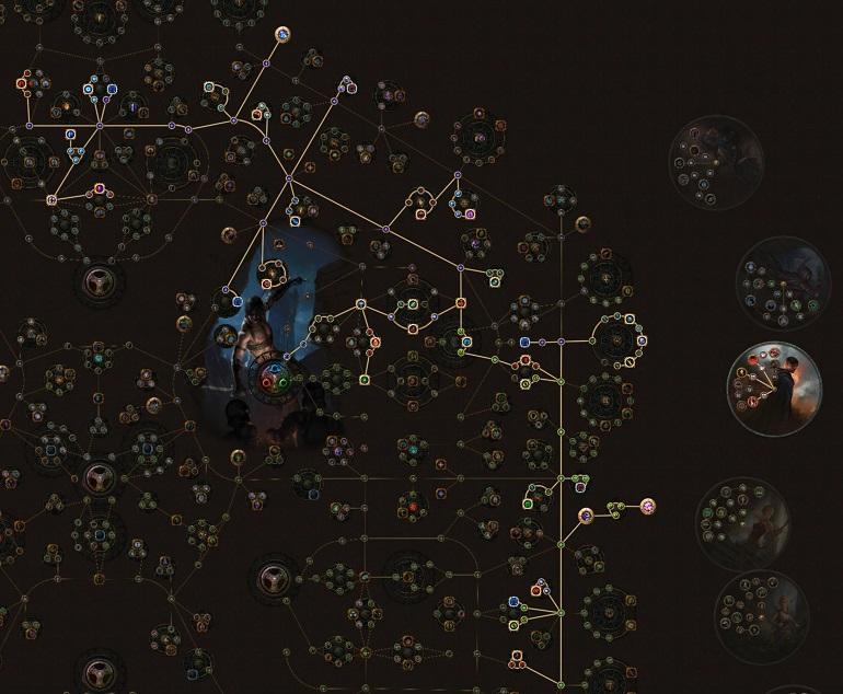 PoE 3.6 Lightning Trap Saboteur Passive Skill Tree