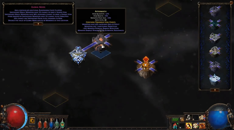 PoE 3.6 Synthesis League Memory Map