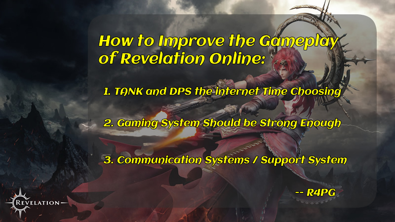 R4PG Tells You How to Improve the Gameplay of Revelation Online