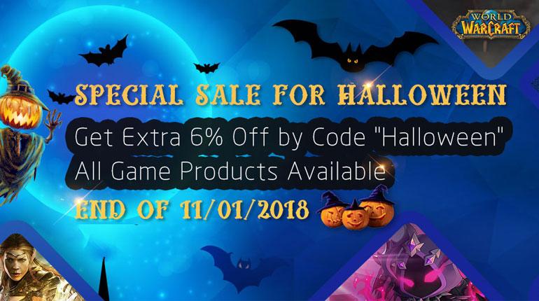 Special Halloween Sale