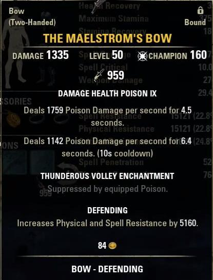 The Maelstroms Bow